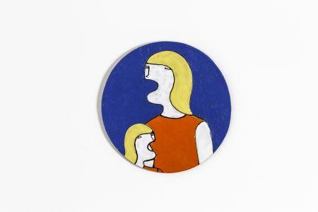 Fabrizio Dusi Classic family ceramica single incomunicabilità ragazza madre