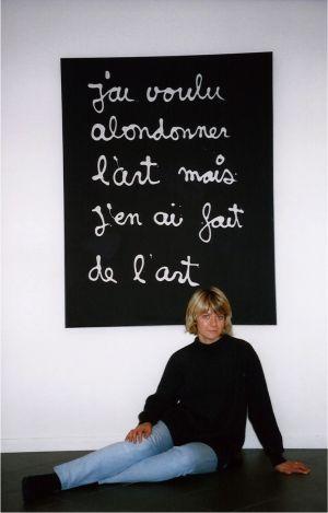 Galleria Sabina Melesi Ben Vautier Lecco arte contemporanea