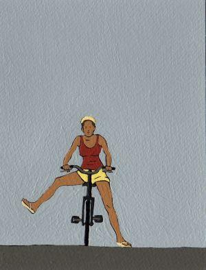 Nando Crippa cartolina erotica disegno Monella Tinto Brass