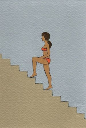 Nando Crippa cartolina disegno
