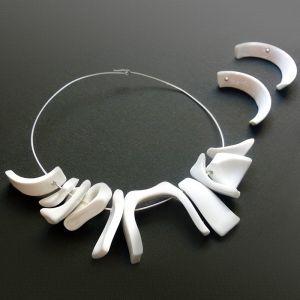 Matilde Domestico gioielli d'artista tazza porcellana argento