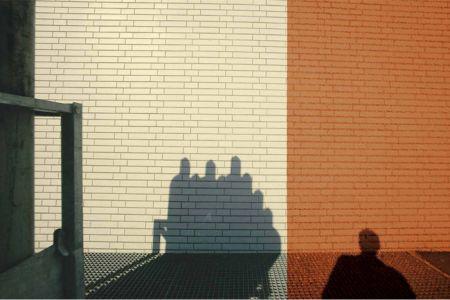 Franco Fontana Francoforte Presenze Assenze Kodak ombre