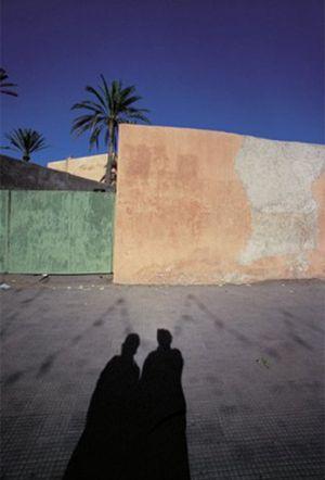 Franco Fontana Marrakech Marocco Presenze Assenze ombre