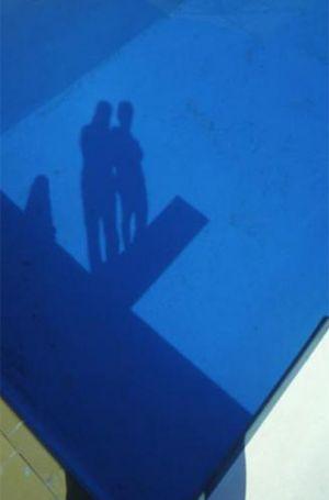 Franco Fontana Piscina presenze assenze Kodak ombre
