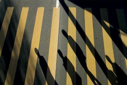 Franco Fontana Zurigo Svizzera Presenze assenze Kodak ombre strisce pedonali