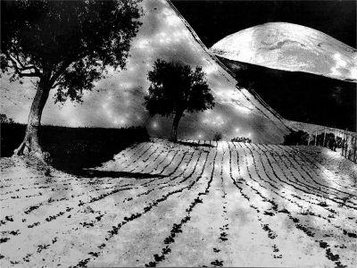 Mario Giacomelli paesaggio Alla luna Giacomo Leopardi