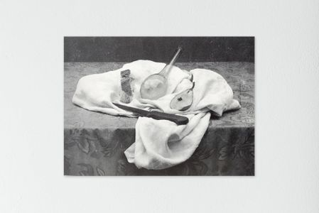 Mario Giacomelli natura morta bianco nero
