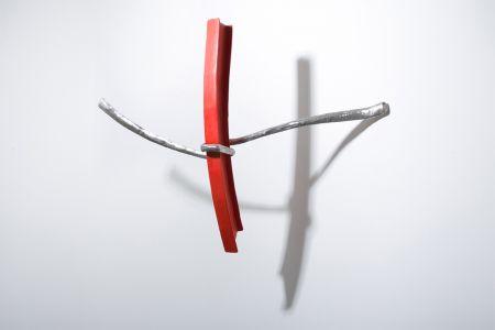 Eduard Habicher putrella acciaio scultura