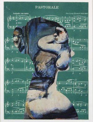 Jiri Kolar collage rollage chiasmage Praga artista ceco