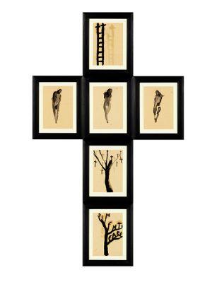 Giovanni Manfredini Manfred tentativo di esistenza Tutti Santi croce crocefissione