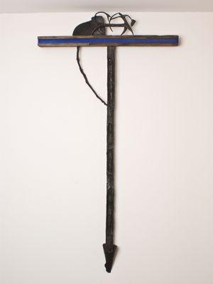 Giuseppe Maraniello Lettera T artista scultore italian artist legno bronzo