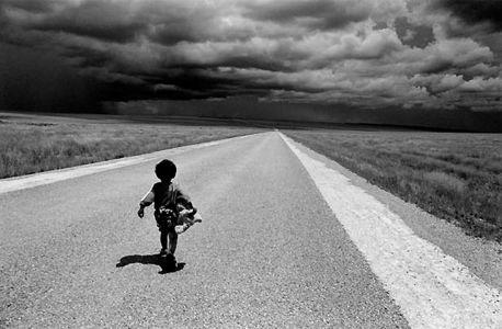 Pierrot Men Horombe Madagascar malgascio stampa foto photo bianco e nero