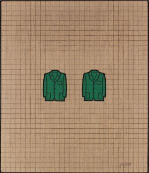 Tino Stefanoni tavole oggetti quotidiani giacche opera storica