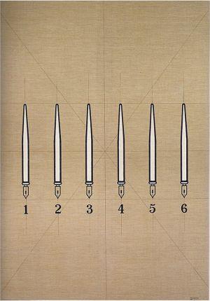 Tino Stefanoni tavole oggetti quotidiani penne opera storica