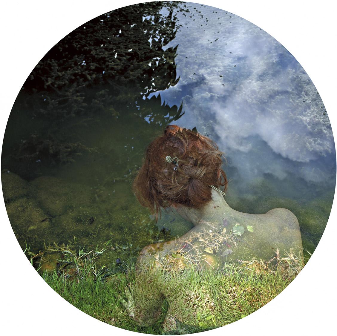 Opera di Francesca Della Toffola con acqua