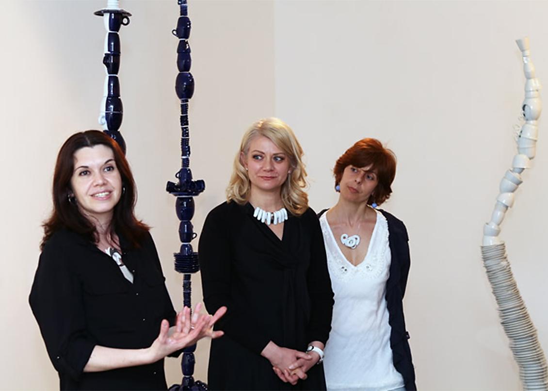 Mara De Fanti, Sabina Melesi, Matilde Domestico