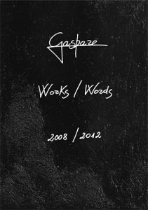Gaspare Works/Words cover