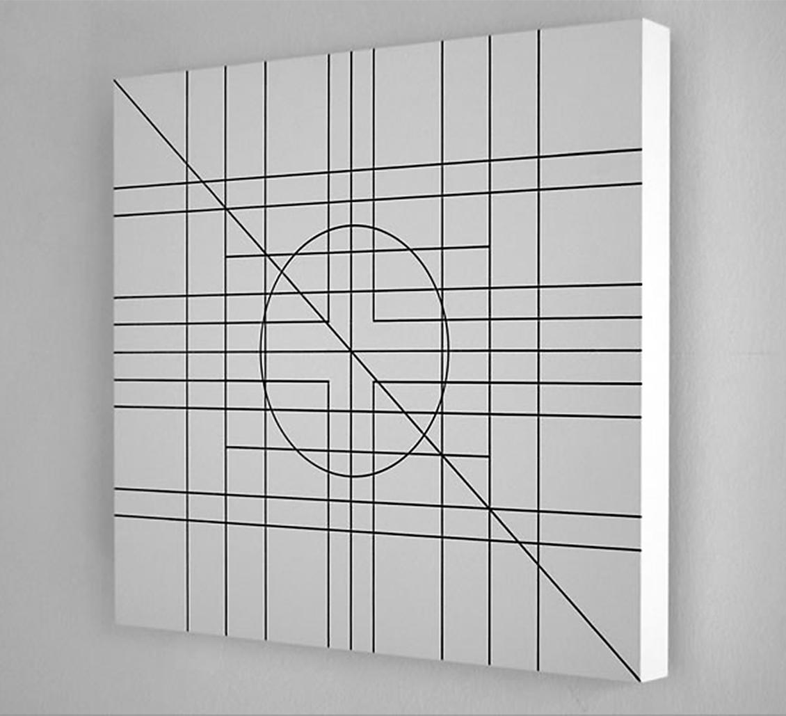 Un'opera di Alfabeto cerco della mostra Di-segni Di-colori