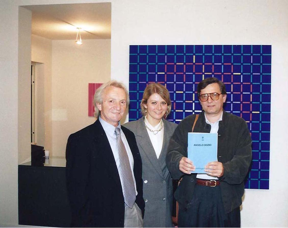 Angelo Dozio, Sabina Melesi, Luigi Erba a Galleria Melesi