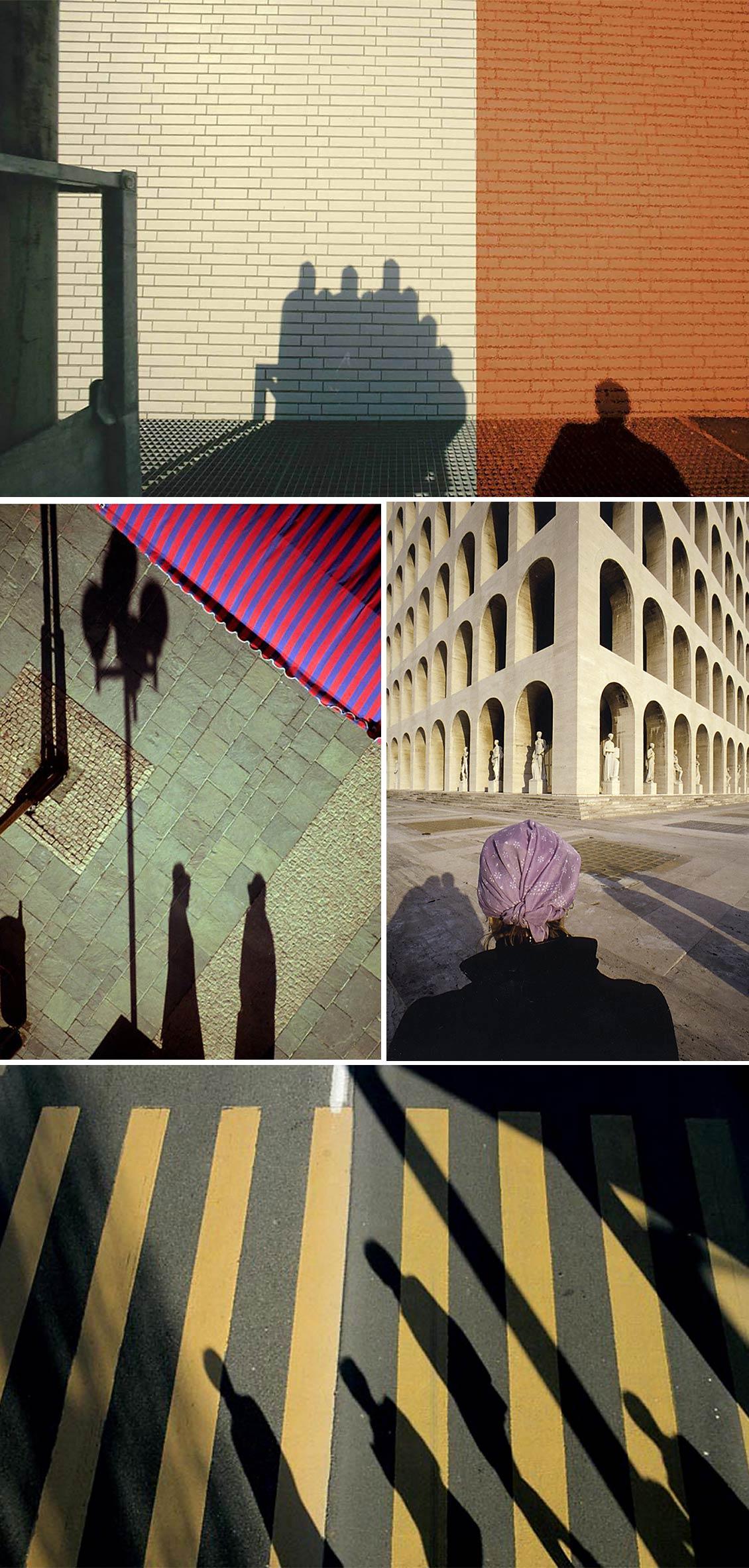 Opere della mostra Presenze Assenze di Franco Fontana