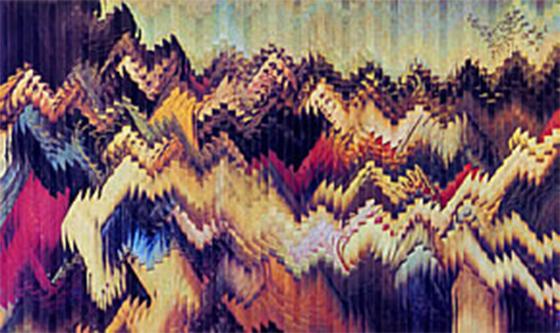 Deposizione, 1975 - rollage