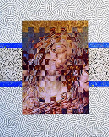 In un'emozione 15.1.91, 1991 - collage difettoso