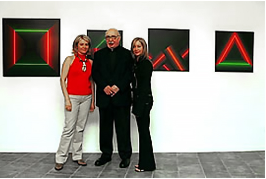 Susanna e Sabina Melesi con Horacio Garcia Rossi