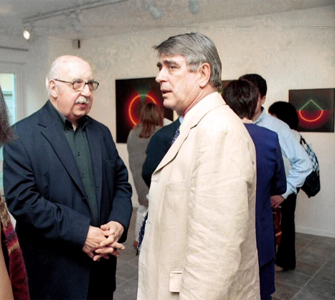 Horacio Garcia Rossi e Giorgio Bonomi