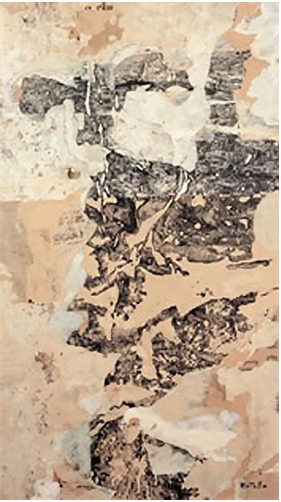 Collage di Mimmo Rotella