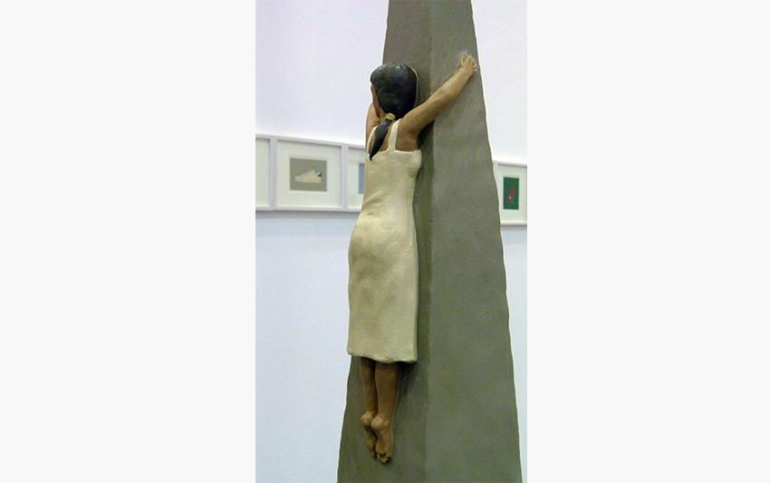 L'estasi di Arturo (particolare) opera Nando Crippa