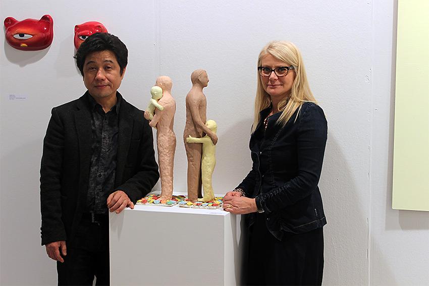 Kazumasa Mizokami con Sabina Melesi