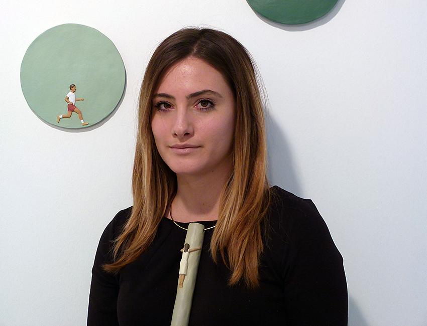Angela Faravelli con gioiello di Crippa
