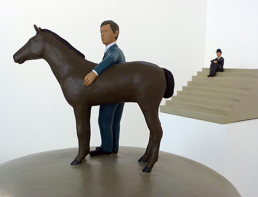 Uomo et Cavallo di Nando Crippa
