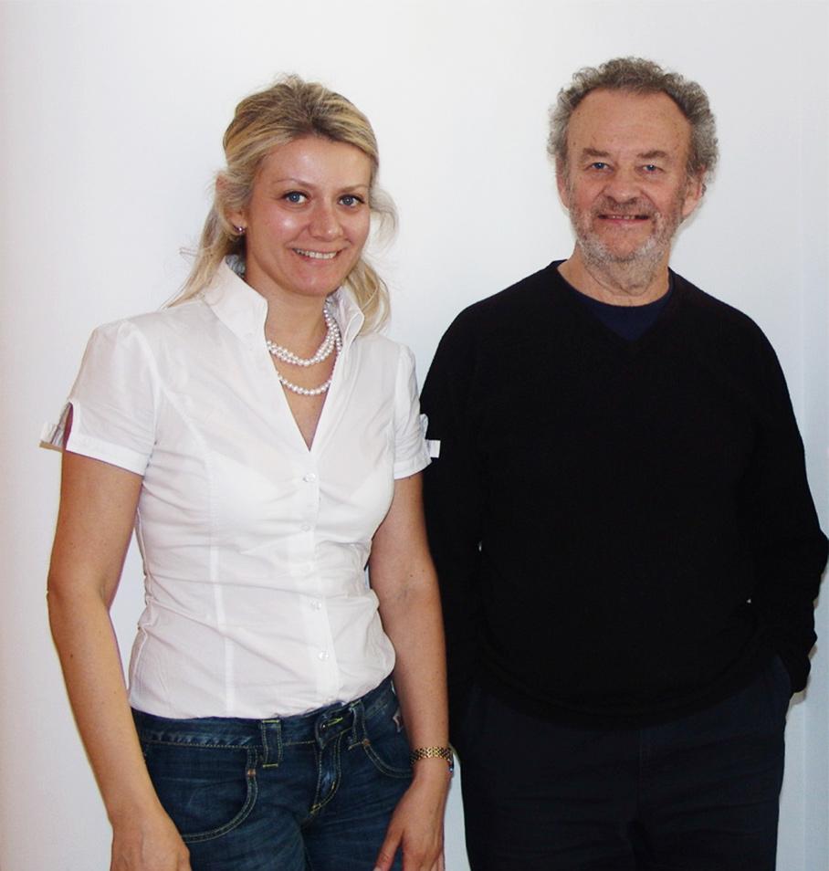 Sabina Melesi e Terry Atkinson