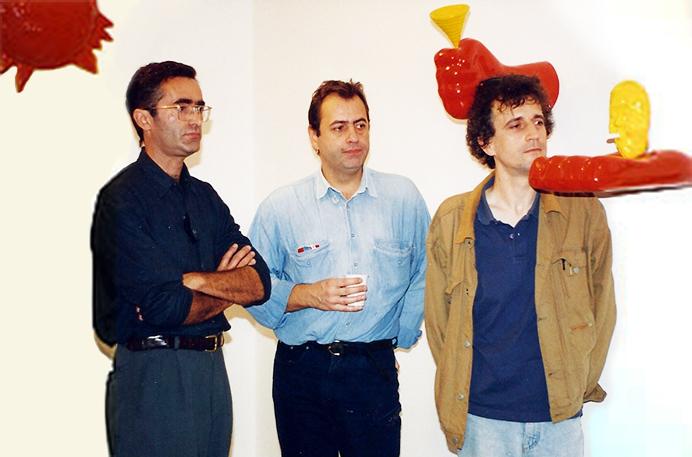Claudio Ragni, Gianni Cella, e Romolo Pollotta