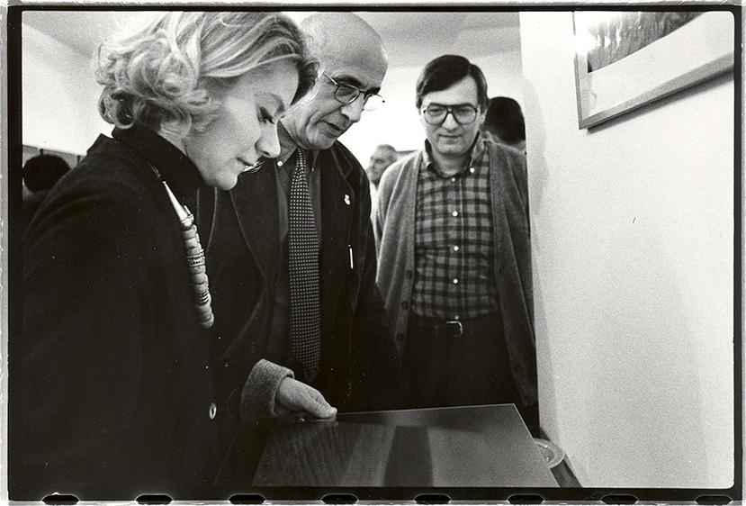 Sabina Melesi, Franco Fontana e Luigi Erba