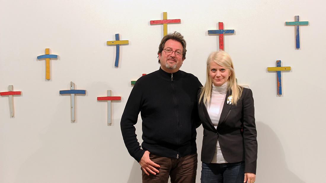 Sabina Melesi e Francesco Tuccio