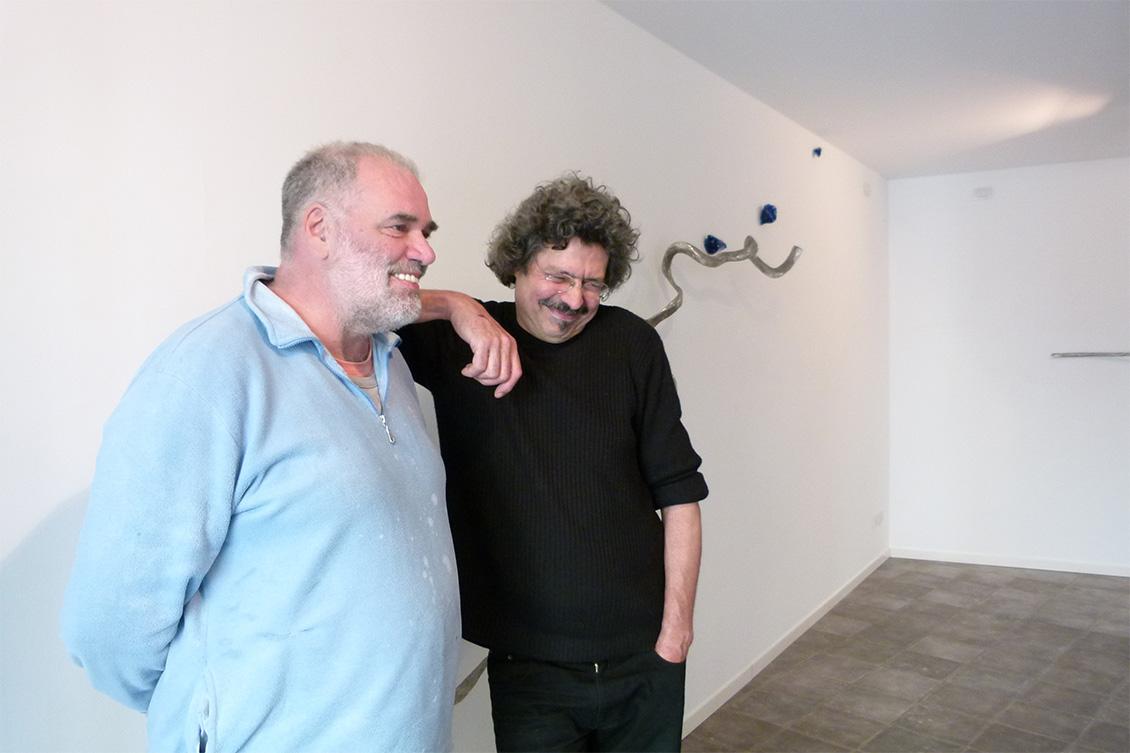 Pablo Atchugarry ed Eduard Habicher