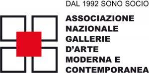 Logo Associazione Nazionale Gallerie D'arte Moderna e Contemporanea
