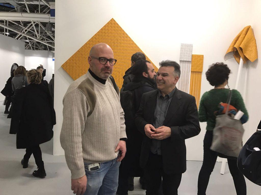 Mimmo Iacopino Solo Show Artefiera Bologna Galleria Melesi Raffaele Bonuomo
