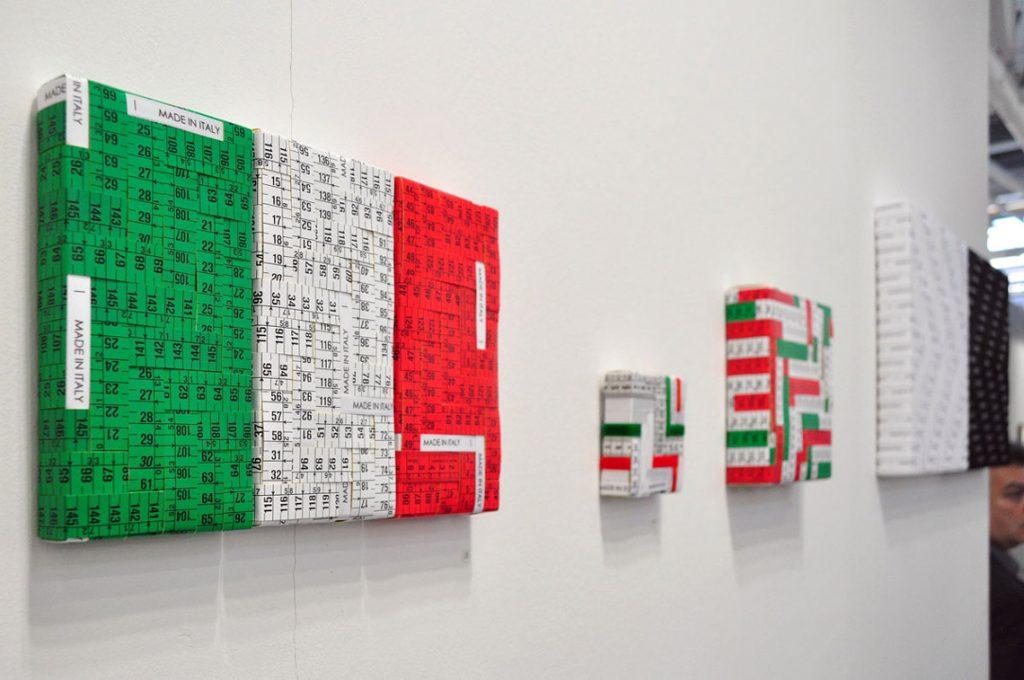 Opere con colori italiani di Mimmo Iacopino