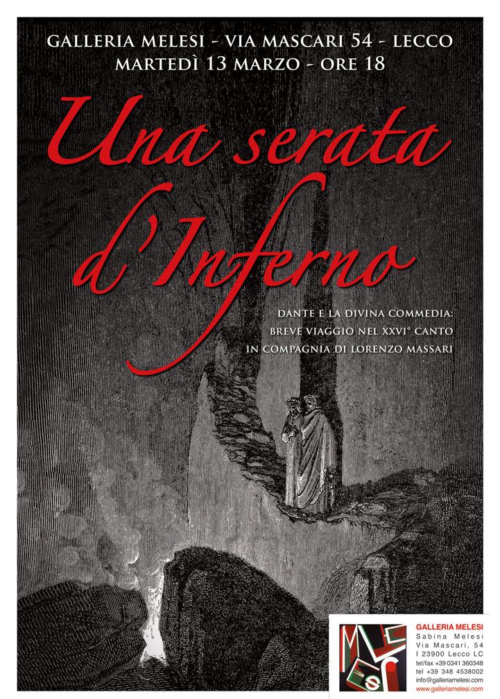 Una serata d'Inferno - Galleria Melesi.