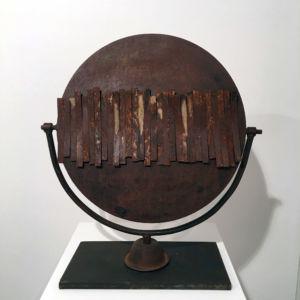 Antonio Ievolella Specchio scultura ferro Padova