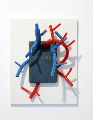 Corrado Bonomi Cardio concettuale ironico libro cuore arterie vene