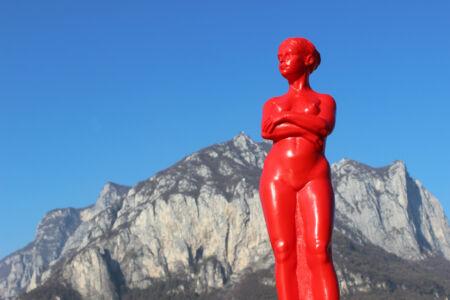 Ottmar Hörl Venus Venere donna multiplo d'artista plastica