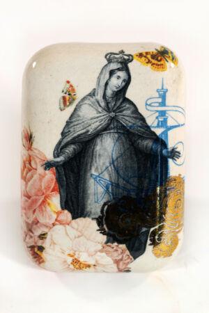 Fabio Taramasco ceramica formelle Savona Madonna della Misericordia