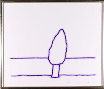 Tino Stefanoni disegno pastello sinopia paesaggio