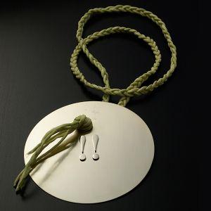Maurizio Arcangeli gioielli d'artista segno zodiacale gemelli oro bianco