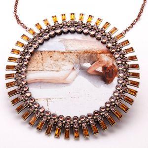 Francesca Della Toffola gioielli d'artista accerchiati incanti