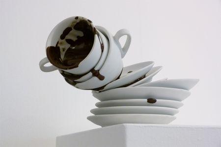 Matilde Domestico cioccolatazze tazzine piattini cioccolato porcellana IPA bisquit